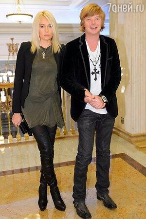 Андрей Григорьев-Аполлонов с женой Марией