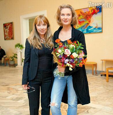 Дарья Михайлова с режиссером фильма Ольгой Жулиной