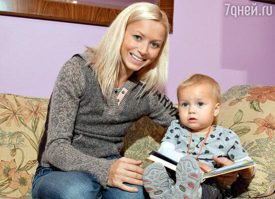 Лена с дочкой Соней
