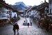Швейцарский городок Грюйер