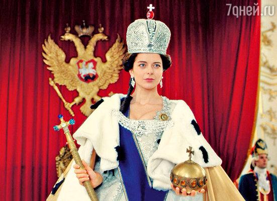 На съемках сериала «Екатерина». 2014 г.