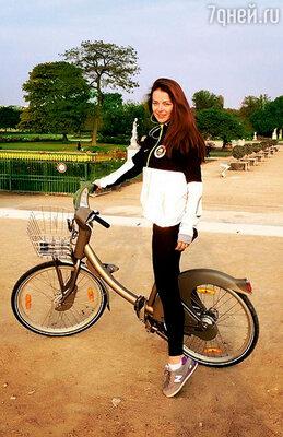 На отдыхе в Париже. 2014 г.