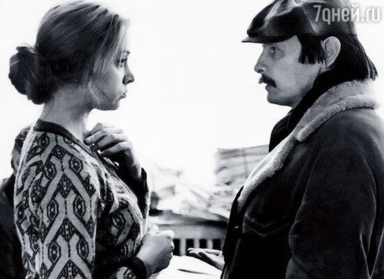 Маргарита Терехова и Андрей Тарковский на съемках фильма «Зеркало»