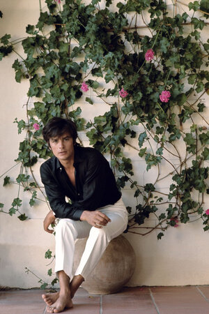 Ален Делон стал воплощением мужской красоты