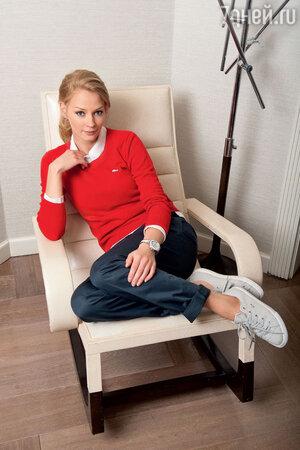 Светлана Ходченкова не жалеет денег на хорошие косметические средства