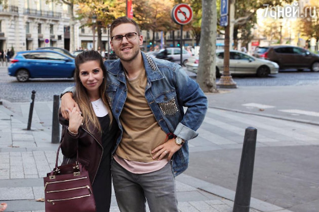 алина Юдашкина с мужем