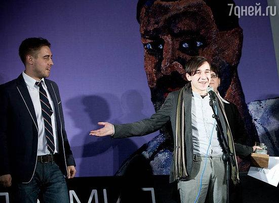 Иван Каданер — обладатель главного приза — поездки-стажировки в художественную Академию Брера в Милане