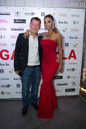 Габриэлла с мужем Виталием Чекулаевым