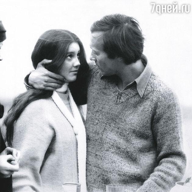 Елена Костина и Олег Янковский