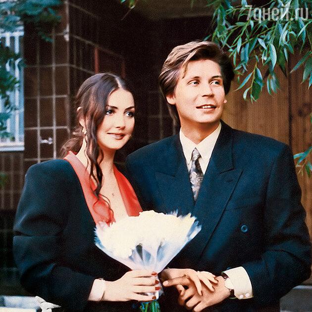 Елена Костина с первым мужем