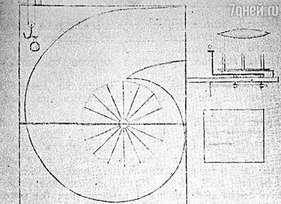 Макет аэродинамической трубы