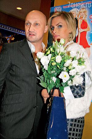 Гоша Куценко с женой Ириной Скриниченко