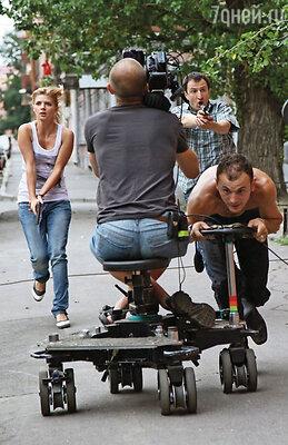 Съемки сериала «Наркотрафик»