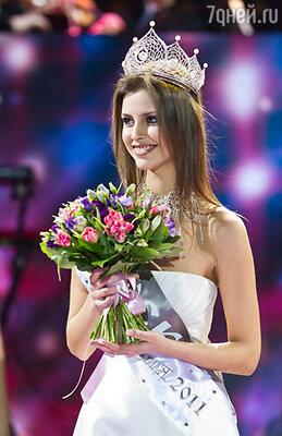 Новой российской королевой красоты стала 19-летняя студентка РГГУ москвичка Наталья Гантимурова