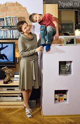 Татьяна с сыном Ванечкой