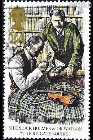 Марка королевской почты Великобритании
