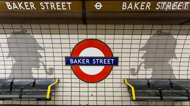 Станция «Бейкер-стрит» лондонского метро