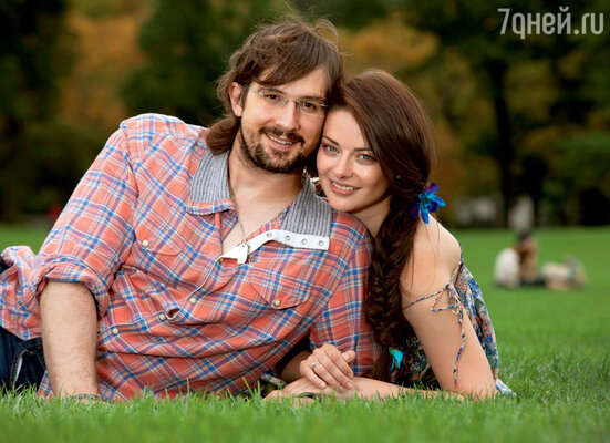 Марина Александрова с мужем Андреем Болтенко в Нью-Йорке