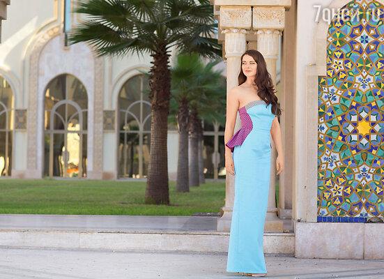 Марина Александрова. На Марине платье ALINA GERMAN