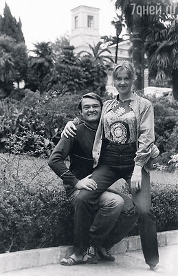 С братом Павлом. Крым, 1980 год