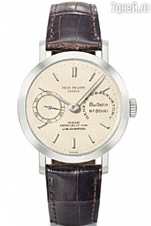 Часы Patek Philippe из платины