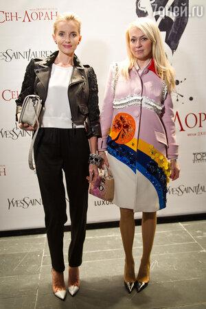 Яна Рудковская посетила закрытый показ фильма «Ив Сен-Лоран»