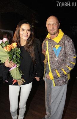 Солистка группы «Фабрика» Катя Ли и Гоша Куценко