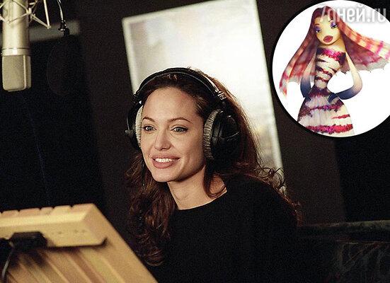 Анджелина Джоли озвучила рыбку Лолу из «Подводной братвы»