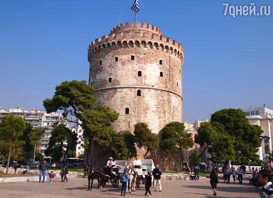 Белая Башня — символ города Салоники
