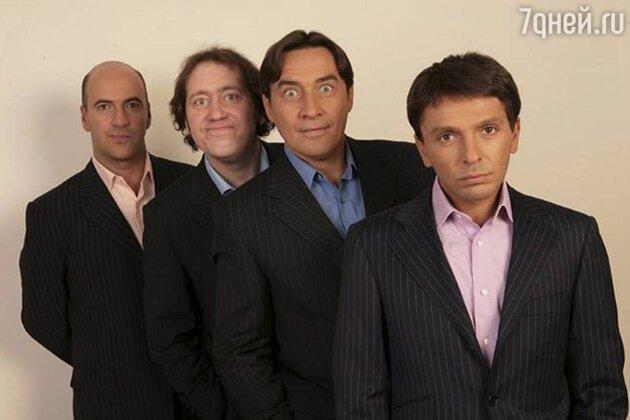 Ростислав Хаит, Александр Демидов, Камиль Ларин и Леонид Барац