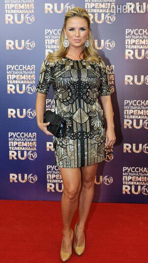 Анна Семенович на вручении премии RU.TV