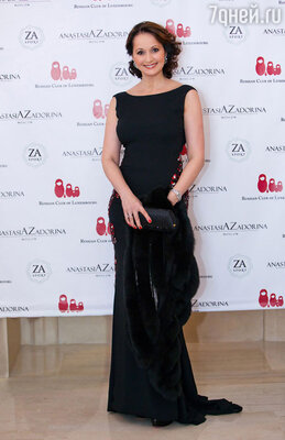 Актриса Ольга Кабо стала ведущей Русского благотворительного бала в Люксембурге.