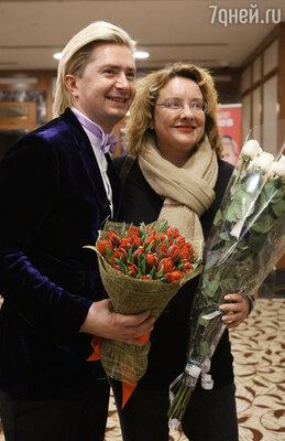 Александр Селезнев и Регина Фон Флемминг