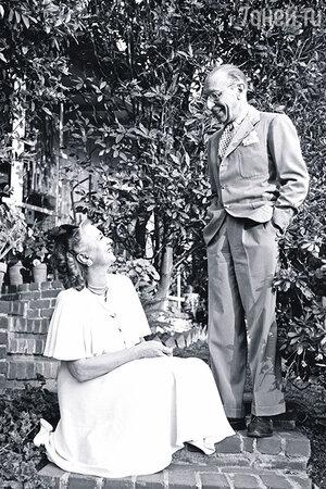 Игорь Стравинский с женой Верой