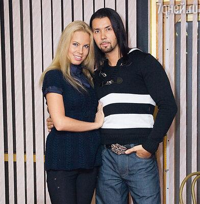 Денис Клявер и его невеста Ирина