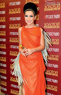 На вручении премии «Золотой граммофон — 2011» в Кремле