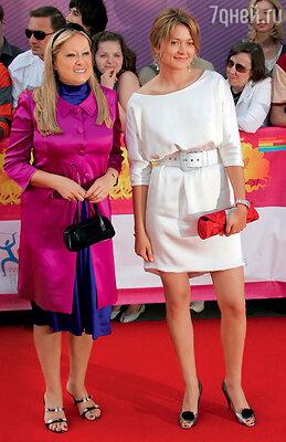 Татьяна и Надежда Михалковы на ММКФ. 2008 год