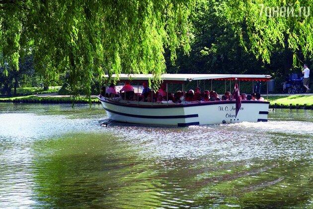 Прогулка на катере по реке Оденсе
