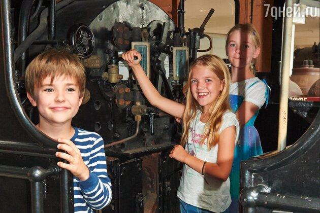 The Danish Railway Museum в Оденсе