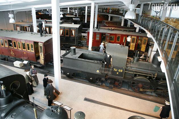 Музей The Danish Railway Museum в Оденсе