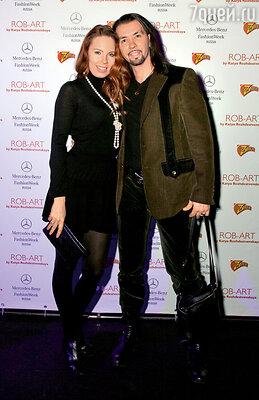 Денис Клявер с супругой Ириной...