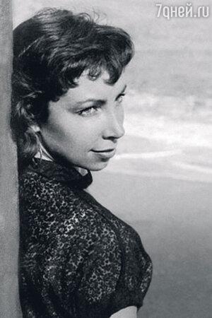 Ирина Ротова, начало 1950-х гг.