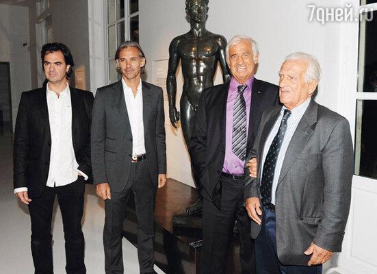 Отцы и дети: Оливье, Поль, Жан-Поль и Ален Бельмондо