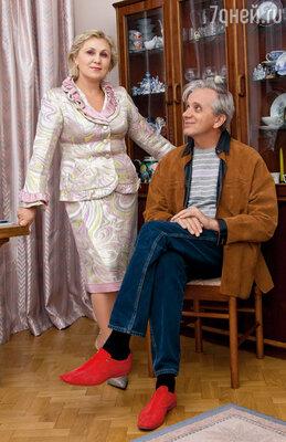 Женя со своей второй женой — Любовью Владимировной