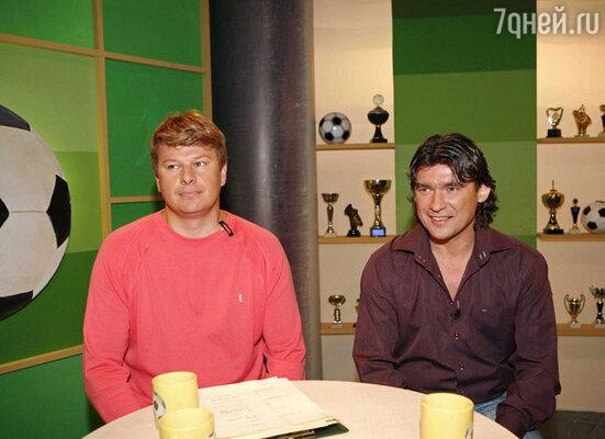 Дмитрий Губерниев и Дмитрий Ананко