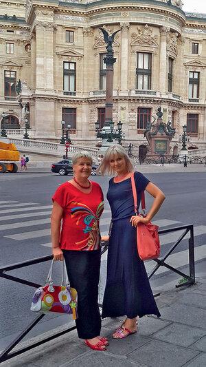 Натали с мамой