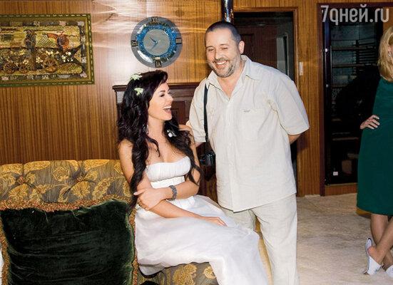 Невеста с братом Святославом