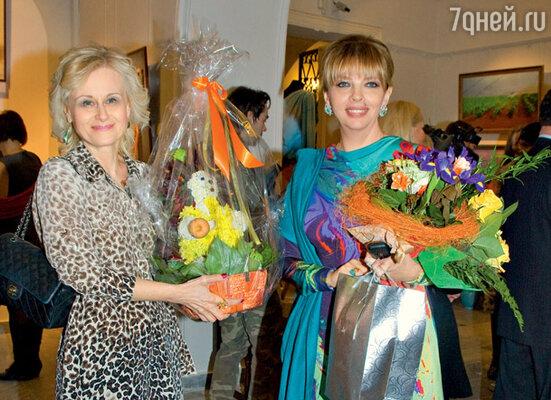 Екатерина Рождественская и Дарья Донцова