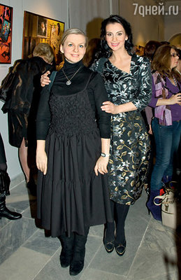 Сестры Виктория Андреянова и Екатерина Стриженова