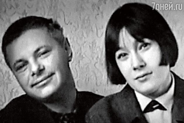Леонид Харитонов с женой Евгенией Гибовой